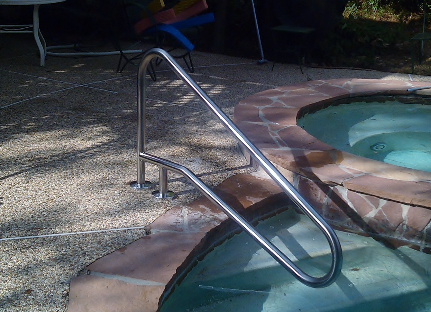 Pool handrails bing images